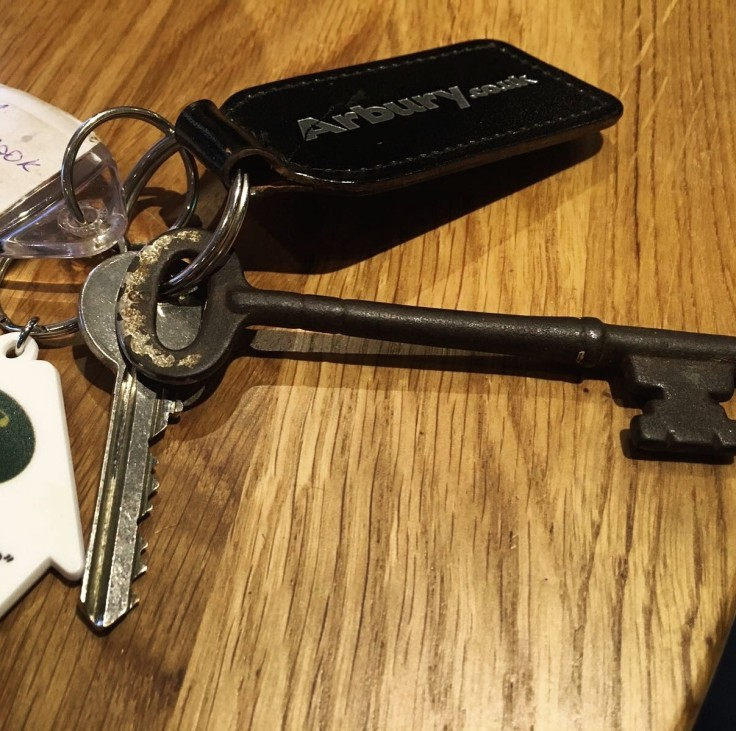 Finally... the keys to our forever home!
